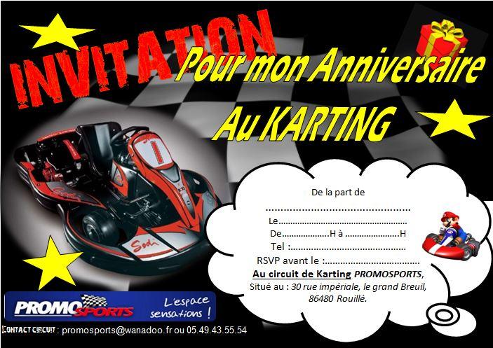 carte anniversaire humoristique invitation